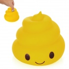 Kreative Poo-Poo Stil Coin Bank - Yellow