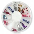 Nail Art Beads (Assorted 12-Style Set)