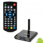 Jesurun Mini Xplus II Android 4.0 Google TV Player w/ Wi-Fi / 1GB RAM / 4GB ROM / HDMI / AV - Black