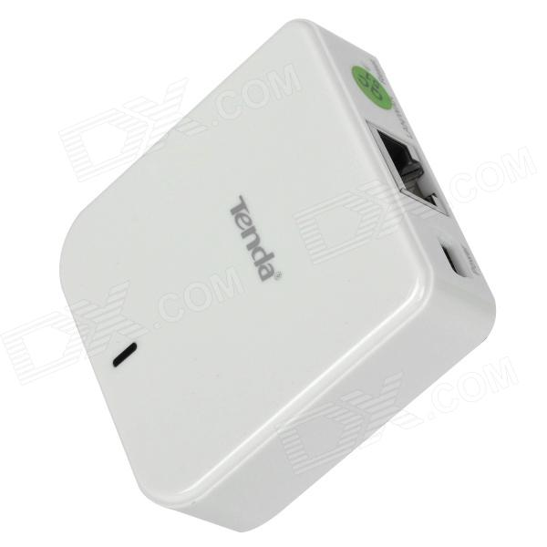 TENDA A6 Mini IEEE 802.11b/g/n 150Mbps Wireless Router - White