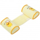 Baby Anti Roll Sleep Positioner Cotton Pillow - Yellow
