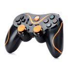 Dual-Shock Wireless Bluetooth Controller for Sony PS3 - Black + Orange