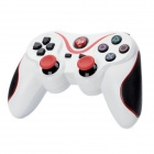 Dualshock Wireless Bluetooth V3.0 Controller for Sony PS3 PlayStation 3 - White + Red