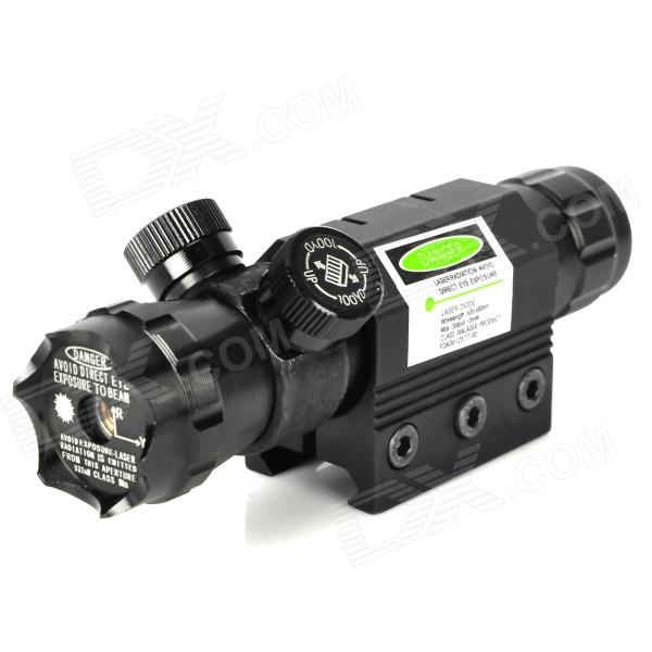 Zinc Alloy Green Dot Laser Sight Scope w/ Gun Mount - Black (1 x CR123A)Gun Scopes &amp; Sights<br>Model:Form  ColorBlackMaterial:Quantity:Laser ColorGreenPacking List<br>