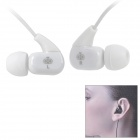 Jabees WE102M Fashion In-Ear-Stereo-Kopfhörer mit Mikrofon - White