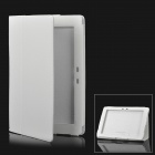 Protective Flip-Open PU Leather Case for ASUS Transformer TF101 - Ivory White