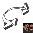 Multi-Functional Body Exercise Flexible Pulling Rope - Black