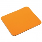 Fashionable Mouse Pad - Orange + Black (21 x 18cm)