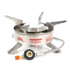 BRS-10 Outdoor Butane Gas Stove - Silver (2.27KW)