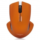 APOINT T5-2 2.4GHz 1000DPI Wireless Optical Mouse - Orange (2 x AAA)