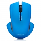 Apoint T5 2.4GHz 1000dpi Wireless Optical Mouse - Blue (2 x AAA)