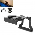 2-in-1 TV Clip Mounting Holder Stand for Xbox 360 Kinect Sensor / Sony PS3 Move Eye Camera - Black