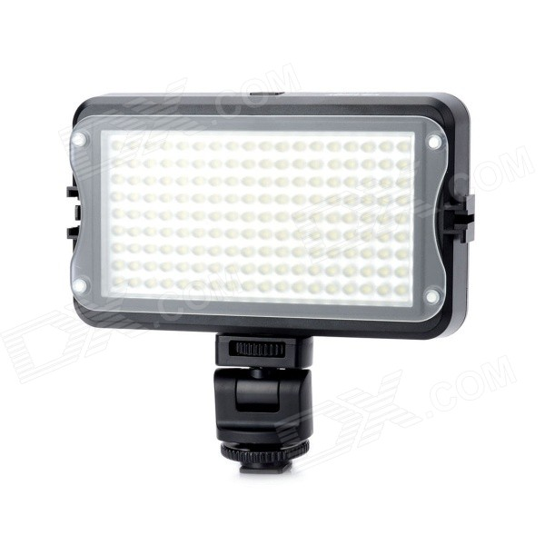 Viltrox LL-162VB Adjustable 162-LED light w/ Hot Shoe Adapter / Color Filters - Black