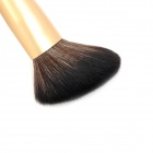 Professional Cosmetic Makeup Blush Brush - Black + Golden