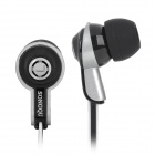 Fashion In-Ear-Stereo-Kopfhörer - Black + White