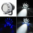 "2.5"" 15W 936lm 13-LED coche Blue Angel Eyes lámpara de niebla (12V)"
