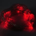 Dekoration 120-LED Party Red Net Light till jul - Genomskinlig