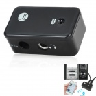 BT-AU01 Wireless Bluetooth V2.0 Stereo Receiver Adapter for Car Home Speaker - Black