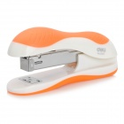 Mini Office Stapler Heften Machine - Orange + Weiß