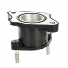 Motorcycle Aluminum Alloy Carburetor Connector for Honda CG125 / CG150 / CG200 - Black (2.8cm)