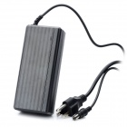 AC DC Power Adapter Charger for Toshiba Laptop - Black (DC 15V / 2-Flat-1-Round-Pin Plug)
