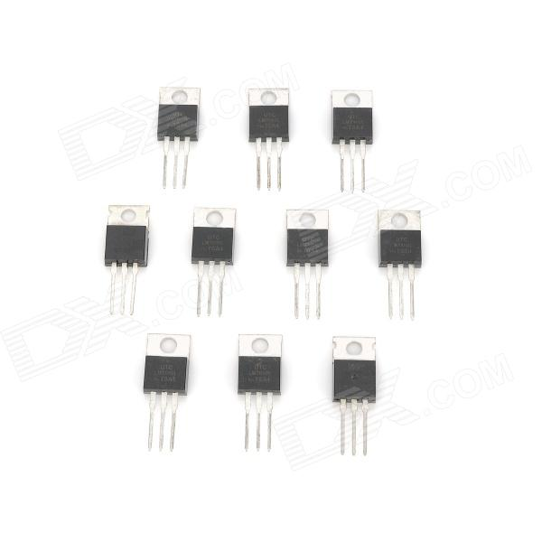 DIY Voltage Regulator LM7809L IC Módulo - Preto (10 peças)