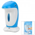 Cute Dolphin Style Automatic Plastic Soap + Sanitizer Dispenser - Blue (4 x AA)
