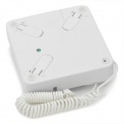 Portable Mobile Phone Receiver for Iphone 3g / 3GS / 4 - White