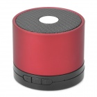 A02 Rechargeable Bluetooth v2.1 Stereo Multi-Media Speaker w/ TF - Red + Black