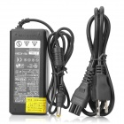 Replacement AC Power Supply Adapter w/ Power Cord for Sony Laptop - Black (6.5 x 4.4mm Plug)