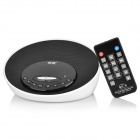 Soaiy S-20 Rechargeable Wireless Bluetooth V2.1 MP3 Player Speaker for Ipod - Black + White