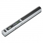 "0.8"" LCD A4 Mini Portable USB Documents Scanner - Silver (2 x AA)"