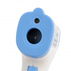 "DT-8806C 1.7"" LCD Non-Contact Body Infrared IR Thermometer - White + Blue (1 x 9V Battery)"