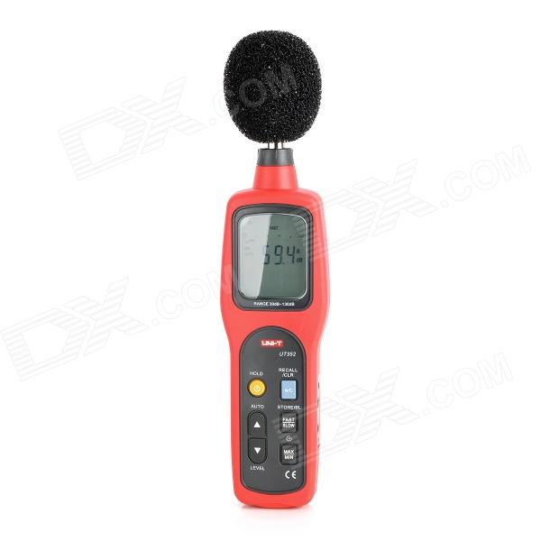 "UT352 2.5 ""LCD Digital Sound Level Meter - Röd + Grå (4 x AA)"