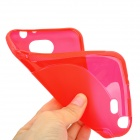 Protective TPU + PVC Back Case for Samsung Galaxy Note 2 / N7100 - Red