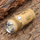 FandyFire Queen Cree XM-L T6 635lm 3-Mode White Light Flashlight - Golden (3 x CR123A / 16340)