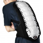 Propro BP-001 Motorcycle Back Protector - Black + White (Size M)