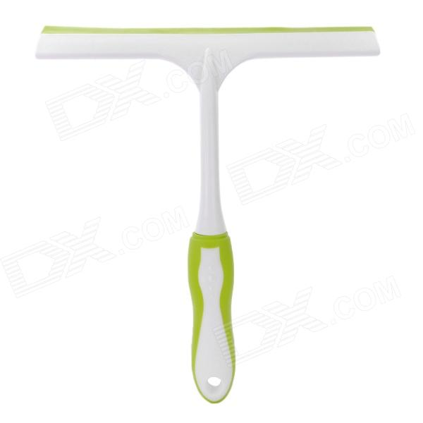 Auto Vehicle Window Brush Car Windshield Wiper - Green + White