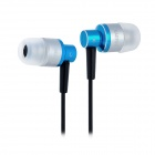 KAERNI KE-200 Stylish In-Ear Earphone for iPhone / iPod / MP3 / MP4 - Blue