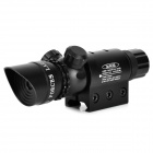 5mW Green Laser Sight Scope w/ Gun Mount - Black (1 x CR123A)