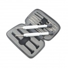 GJ101 Multi-Function Portable Screwdriver Set - Silver
