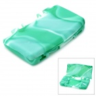 Camouflage Style Protective Silicone Case for Nintendo NDSL - Green + White