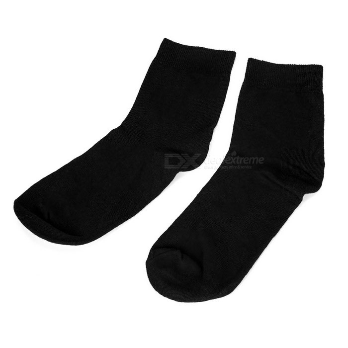 Health Care Magnetic Therapy Far-infrared Socks for Men - Black (Pair / Free Size)