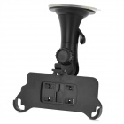 Car Swivel Suction Cup Mount Holder for Iphone 5 - Black