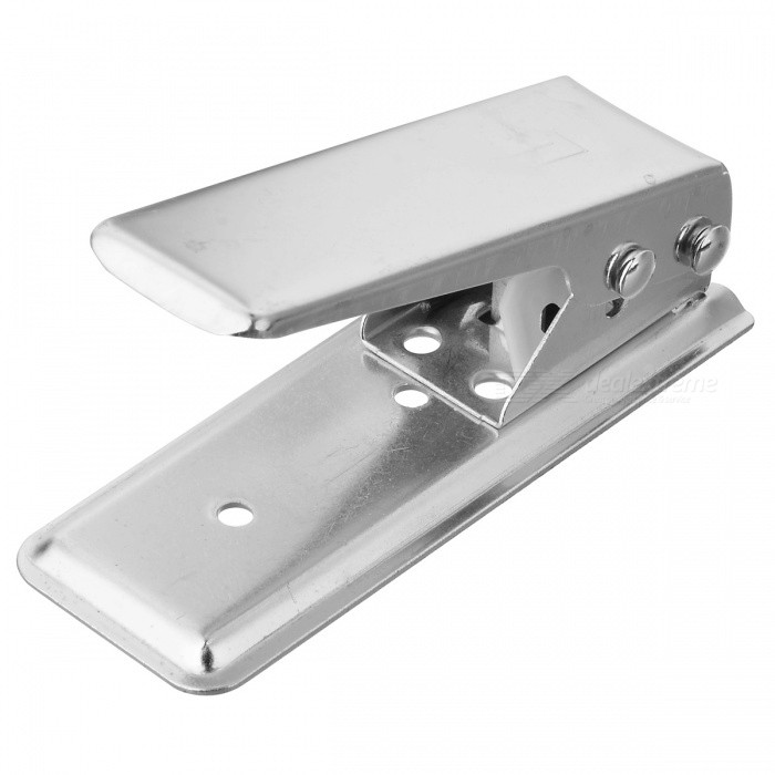 Nano SIM Card Cutter with 3-Adapter for Iphone 5 - Silver