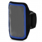 Trendy Sports Armband for Iphone 5 - Black + Blue