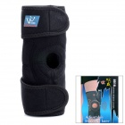 Adjustable Sport Magnetic Keen Protection Pad Brace - Black