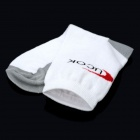 Health Care Anion Foot Deodorant Cotton Socks - White + Grey (Pair / Free Size)