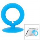 O-Ring Style Suction Cup Stand Holder for Cell Phone - Blue