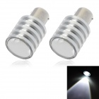 1156 5W 150lm 1-CREE XP-E White Light Car Brake Lamp / Backup Lamp (2 PCS / 12~24V)